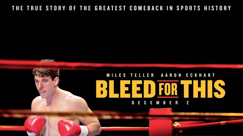 Win 1 of 3 Blu-rays of Bleed For This
