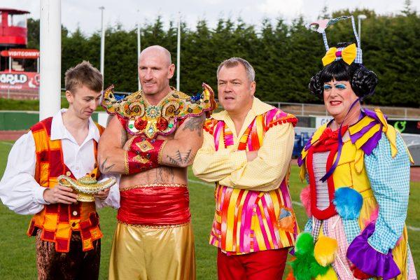 Cast of Aladdin at Erias Park