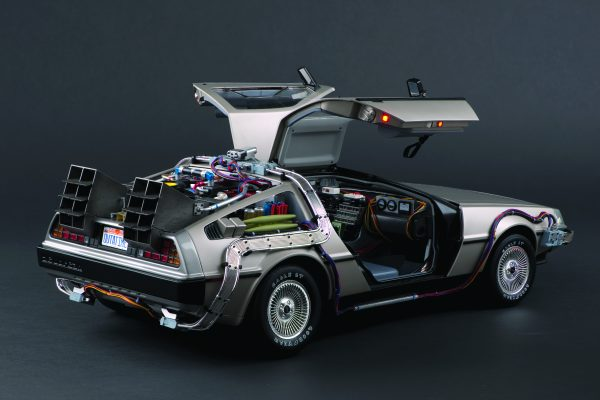 Build your own Back to the Future DeLorean
