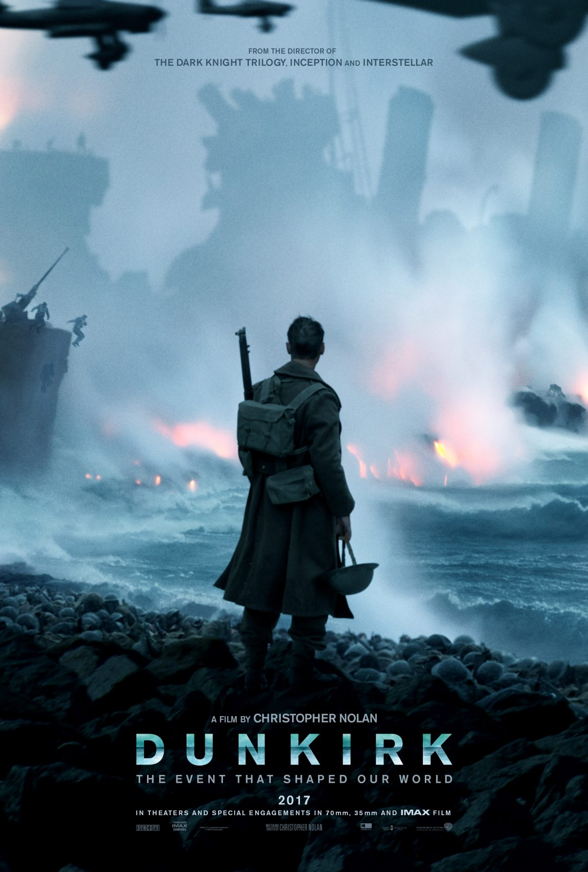 New Teaser Trailer and Poster released for Dunkirk