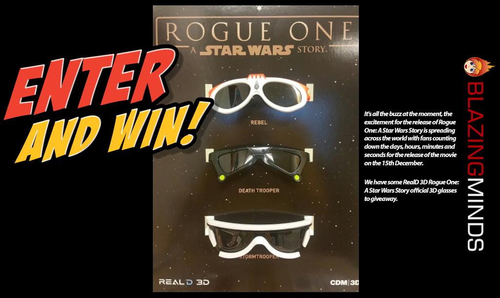 RealD 3D – Rogue One 3D Glasses Giveaway