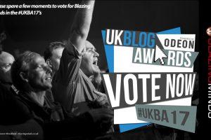 Vote for Blazing Minds in the #UKBA17 @UKBlogAwards