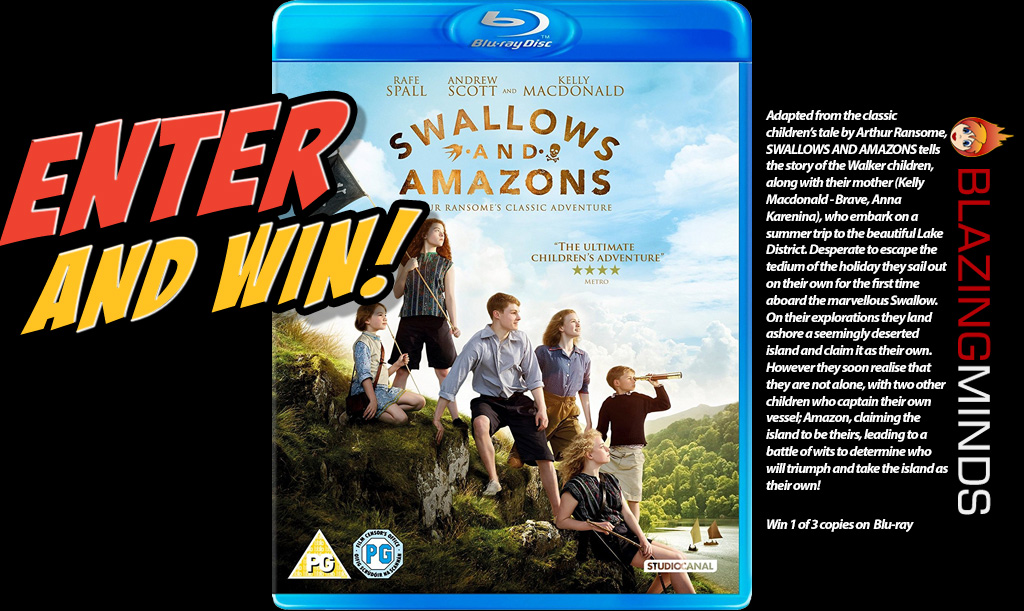 Win Swallows and Amazon on Blu-ray