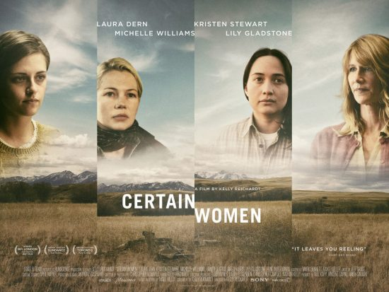 Certain Women Quad Poster