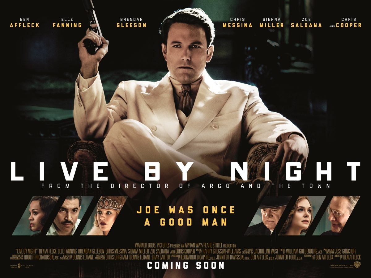 Live By Night starring Ben Affleck – Review