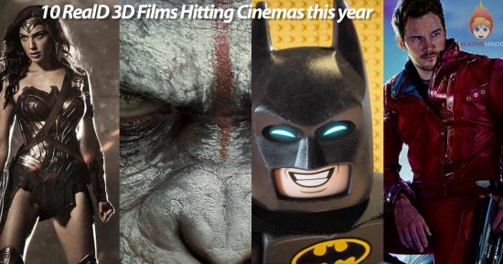 10 RealD 3D Films to see in 2017