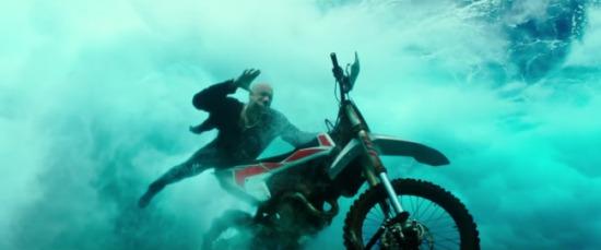 Return of Xander Cage - Bike Surfing