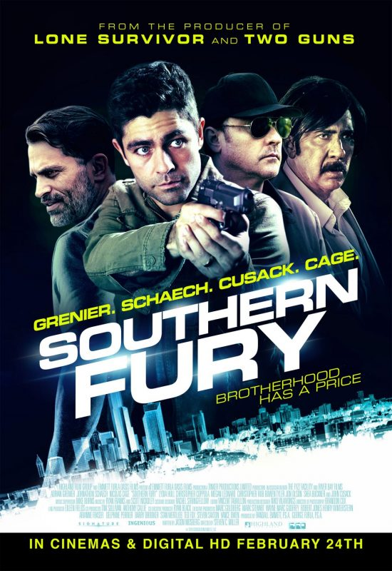 Southern Fury Official UK Poster