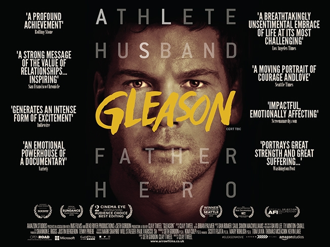 Gleason The Critically Acclaimed Documentary Gets a UK Cinema Release