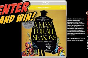 Win A Man for all Seasons Dual Format (Blu-ray & DVD)