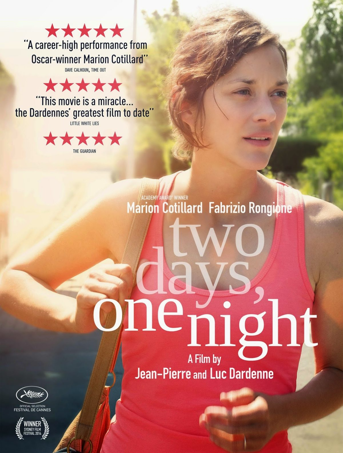 """two days, one night"" of one Helluva Weekend for Marion Cotillard"