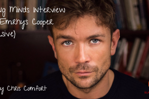 Interview with London actor and Hollywood star Emrhys Cooper