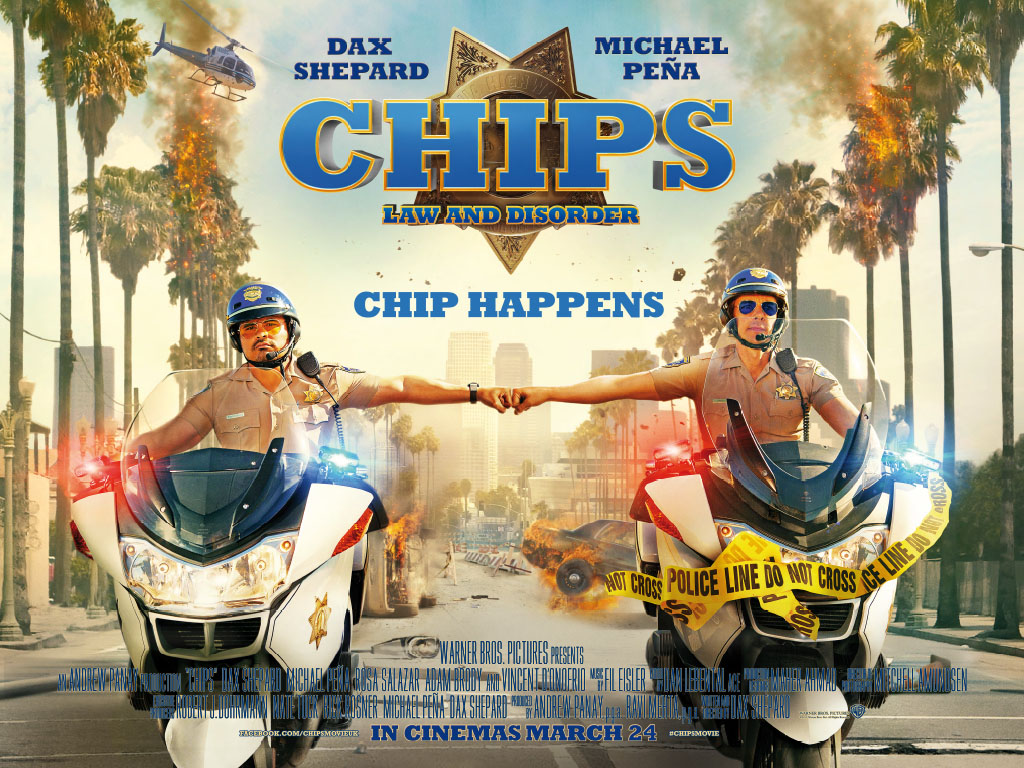 Win CHiPS Goodie Pack with Warner Bros. Pictures and Blazing Minds