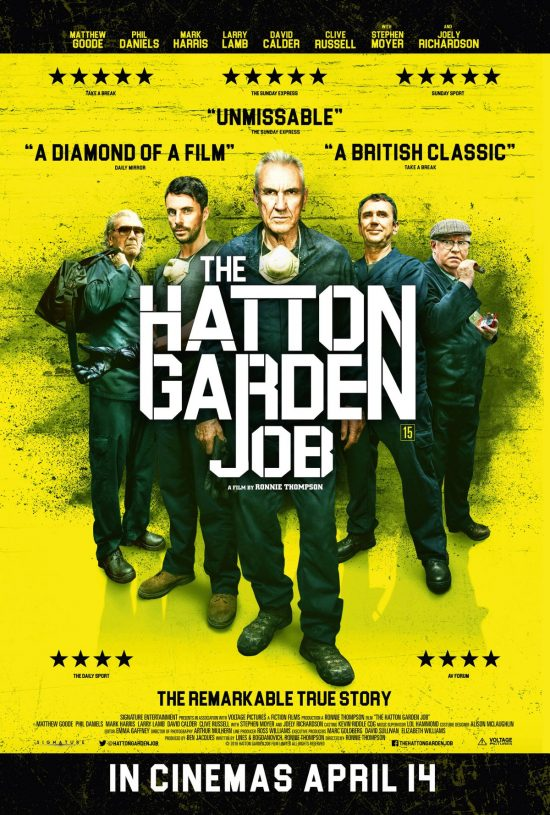 Hatton Garden Job Poster