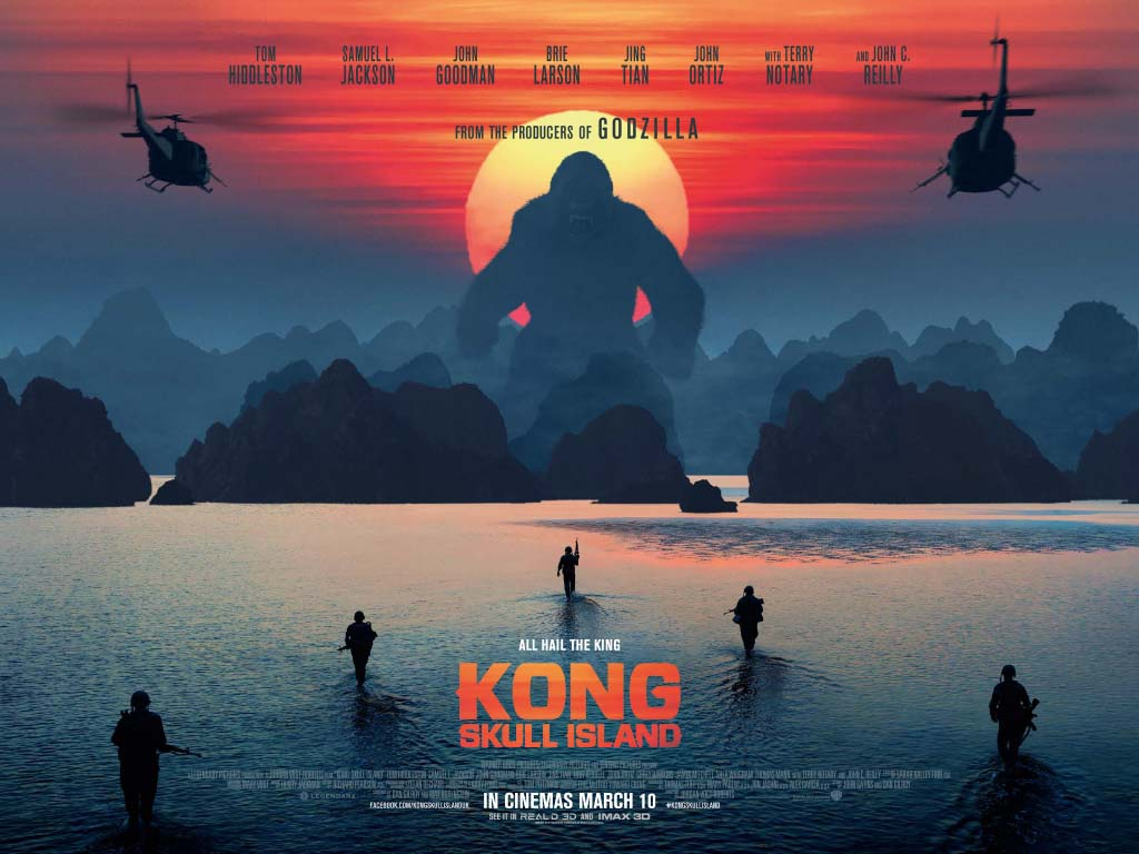 Kong: Skull Island – A Monster of a movie – Review