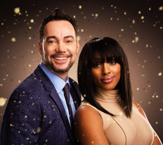 SISTER ACT. Craig Revel Horwood & Alexandra Burke. Photo by Jay Brooks