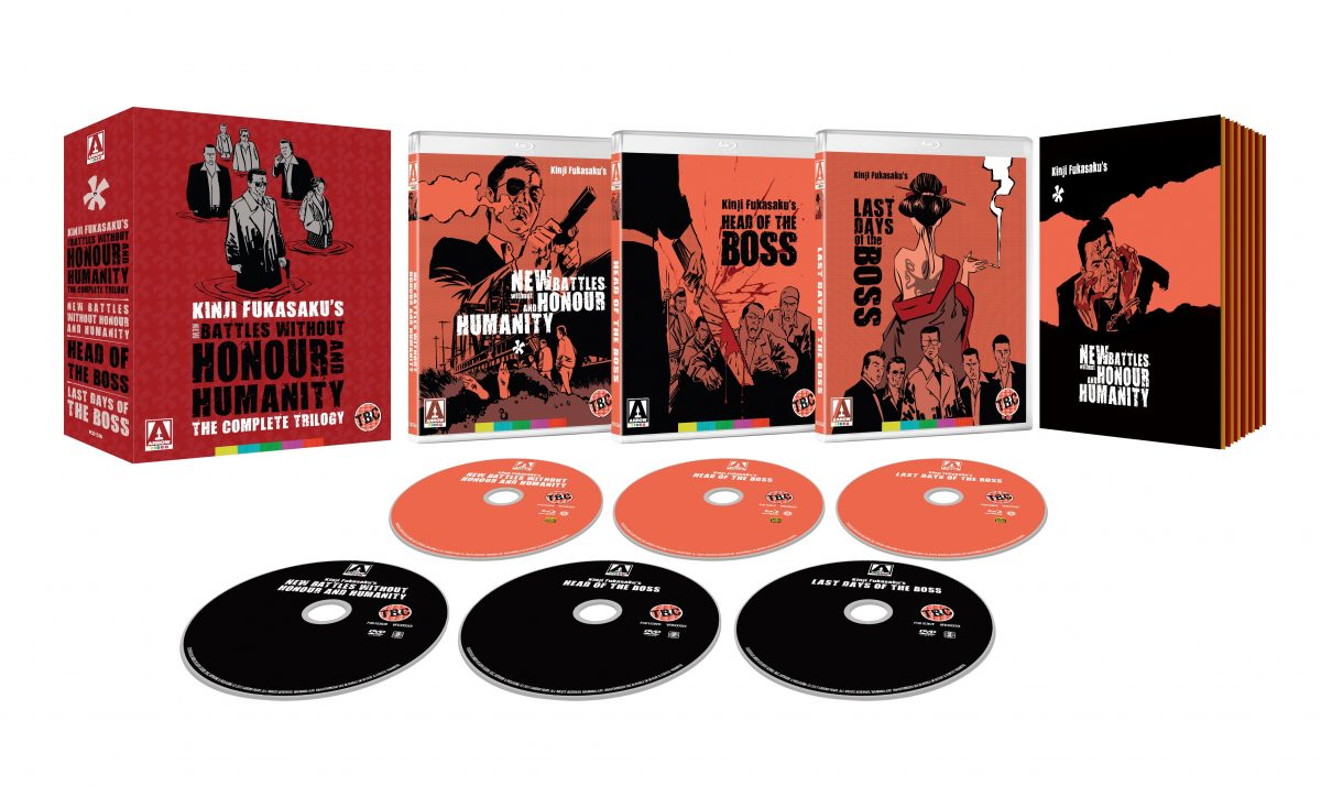 New Battles Without Honour And Humanity: The Complete Trilogy – Release Date