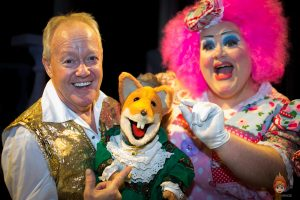 Beauty and the Beast – We Met National Treasure Basil Brush