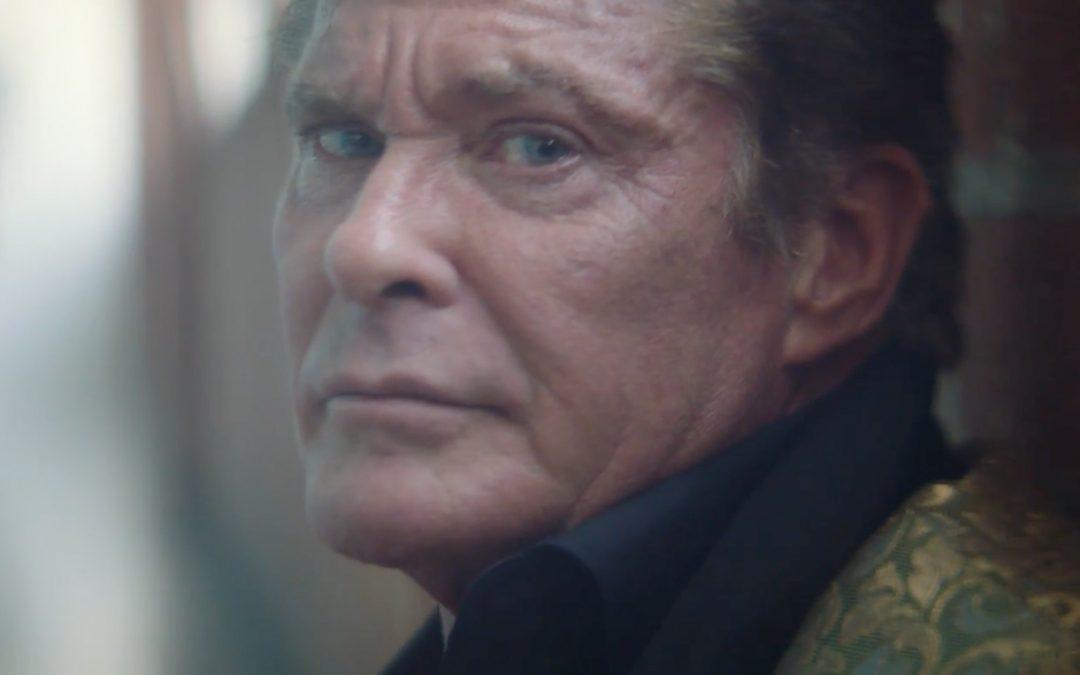 Watch David Hasselhoff in hyper-surreal short-film – It's No Game