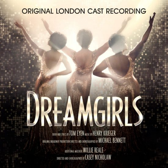 Dreamgirls Original London Cast Recording Album Cover Artwork
