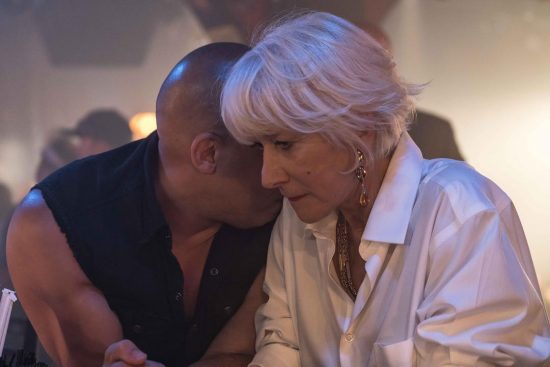 Helen Mirren and Vin Diesel in The Fast of the Furious 8 (2017)
