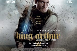 Win a King Arthur Official Merchandise Goodie Pack
