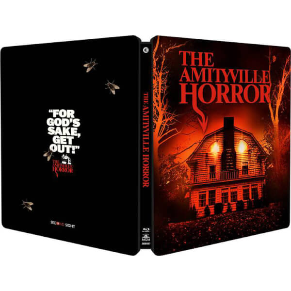 The Amityville Horror first ever UK Blu-ray release in limited edition Steelbook