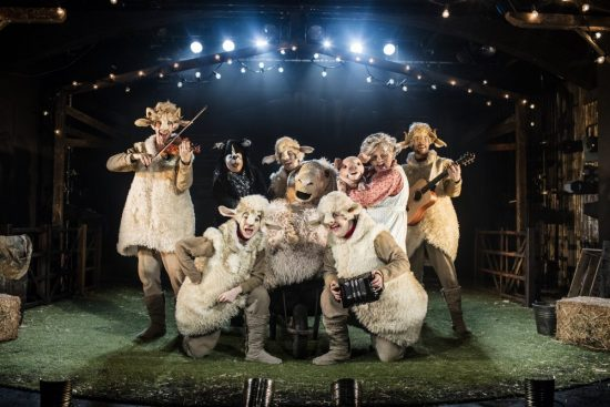 The cast of Babe, The Sheep-Pig. Photo Credit Darren Bell