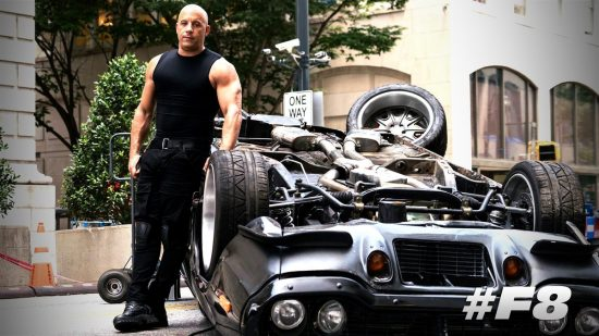 Vin Diesel in The Fast of the Furious 8 (2017)