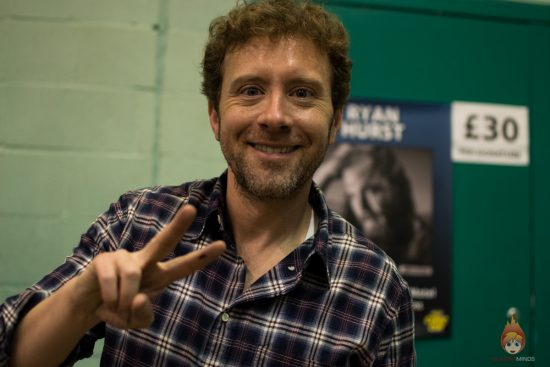 TJ Thyne at Wales Comic Con 2017