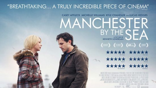 Manchester By The Sea quad poster (Michelle Williams and Casey Affleck)