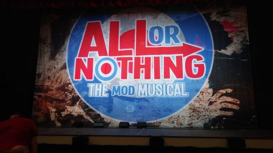 All Or Nothing at the Rhyl Pavilion