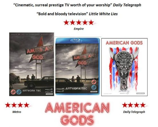 American Gods DVD Blu-ray Download