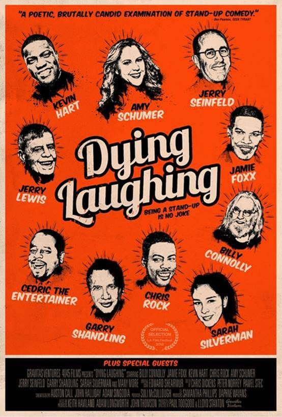 Dying Laughing Featuring Comedy Icons To Be Released In UK Cinemas and On Demand