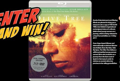 Win The Olive Tree on Dual-Format (Blu-ray and DVD)