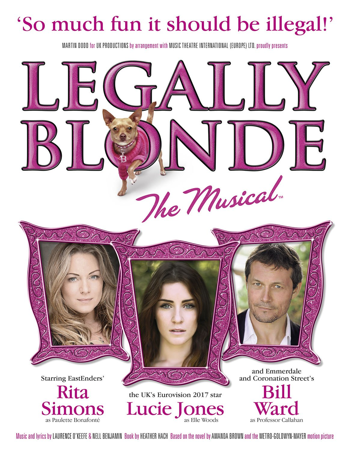 #LegallyBlondeTheMusical has arrived at the #RhylPavilion #Theatre, check out our review of this lyrical slice of fun, on until the 28th October 2017