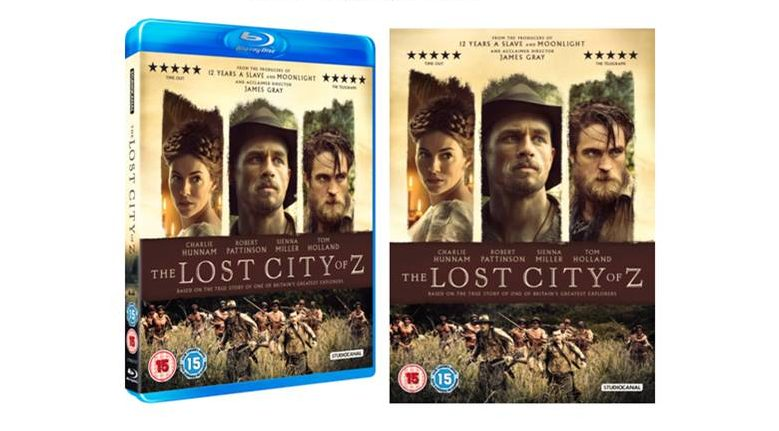 The Lost City of Z UK Blu-ray and DVD UK Release Date