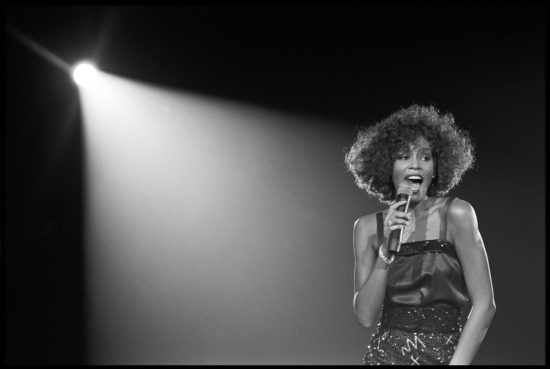 Whitney Houston credit David Corio