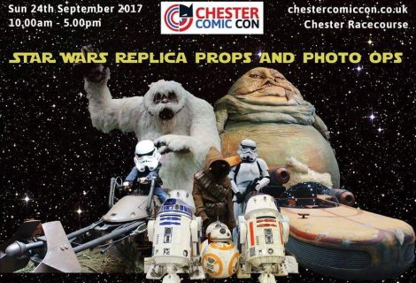 Chester Comic Con Returns Bigger and Better for 2017