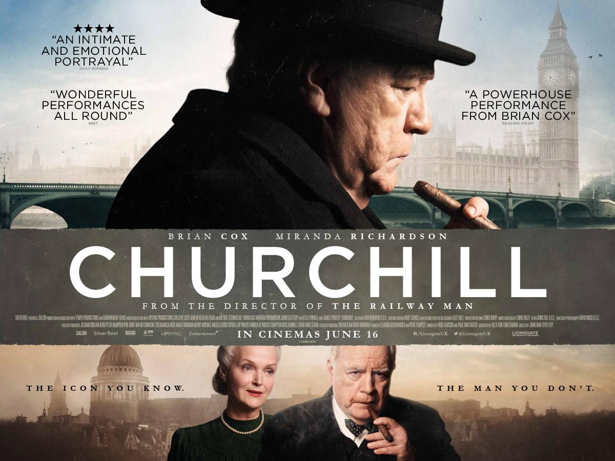Churchill Starring Brian Cox and Miranda Richardson – Film Review