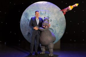 David Walliams' The First Hippo on the Moon heads to Venue Cymru