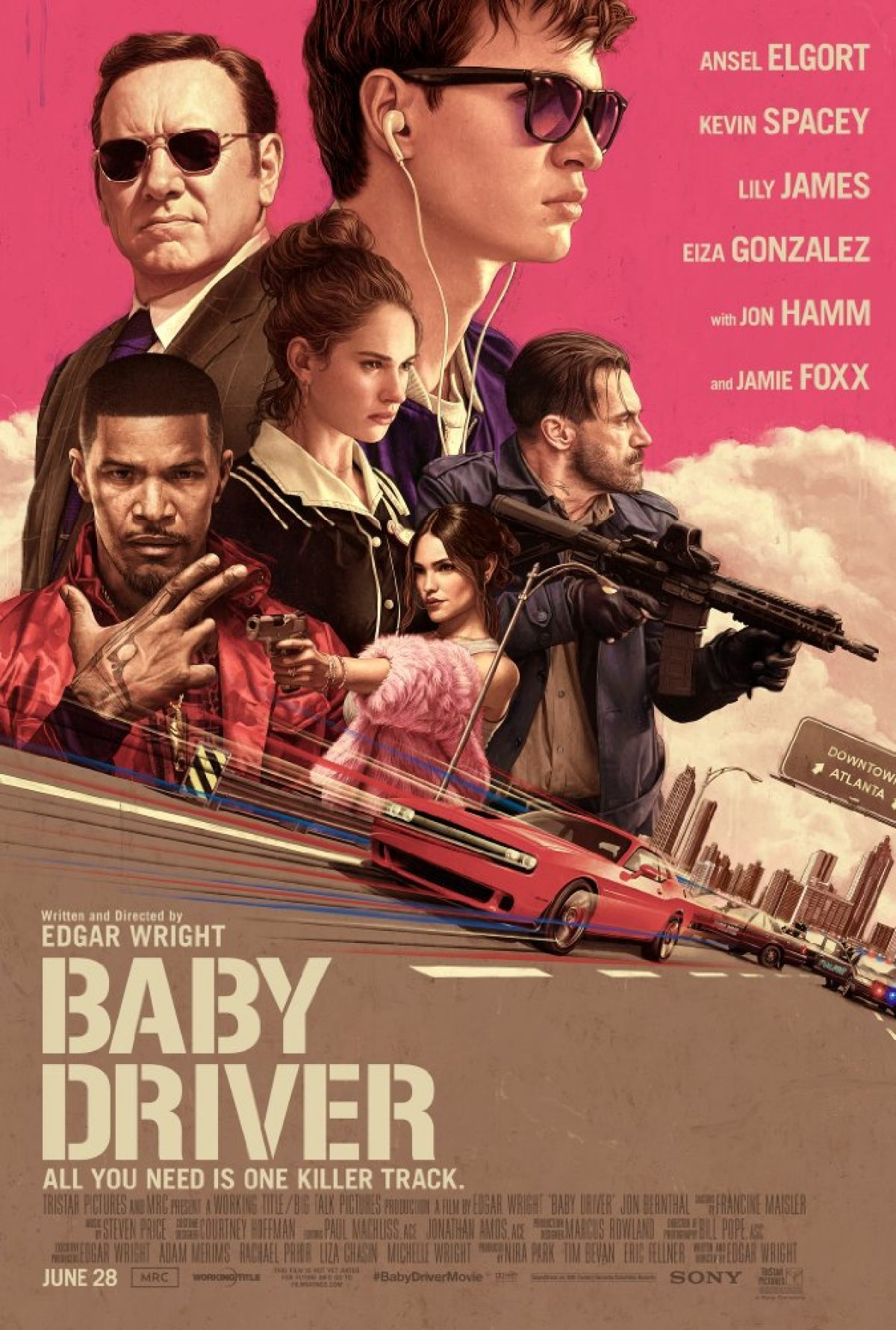 Baby Driver – A Spectacular Movie – Review