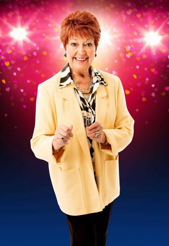 The Wedding Singer UK Tour - Ruth Madoc as Grandma Rosie - credit Darren Bell