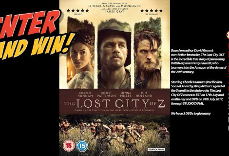 Win 1 of 3 The Lost City of Z on DVD