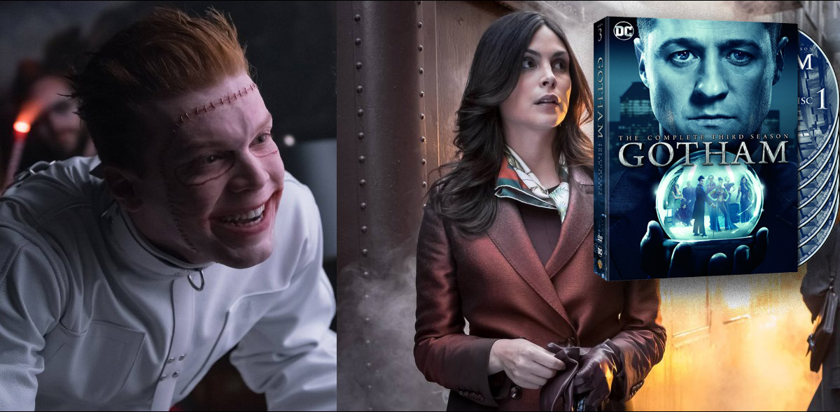 Gotham Fans get ready for Season 3 on Blu-ray™ And DVD