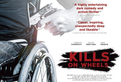 WIN: KILLS ON WHEELS [Montage Pictures] Dual Format (Blu-ray & DVD) edition