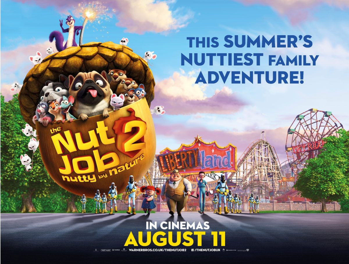 Win The Nut Job 2: Nutty By Nature Official Merchandise