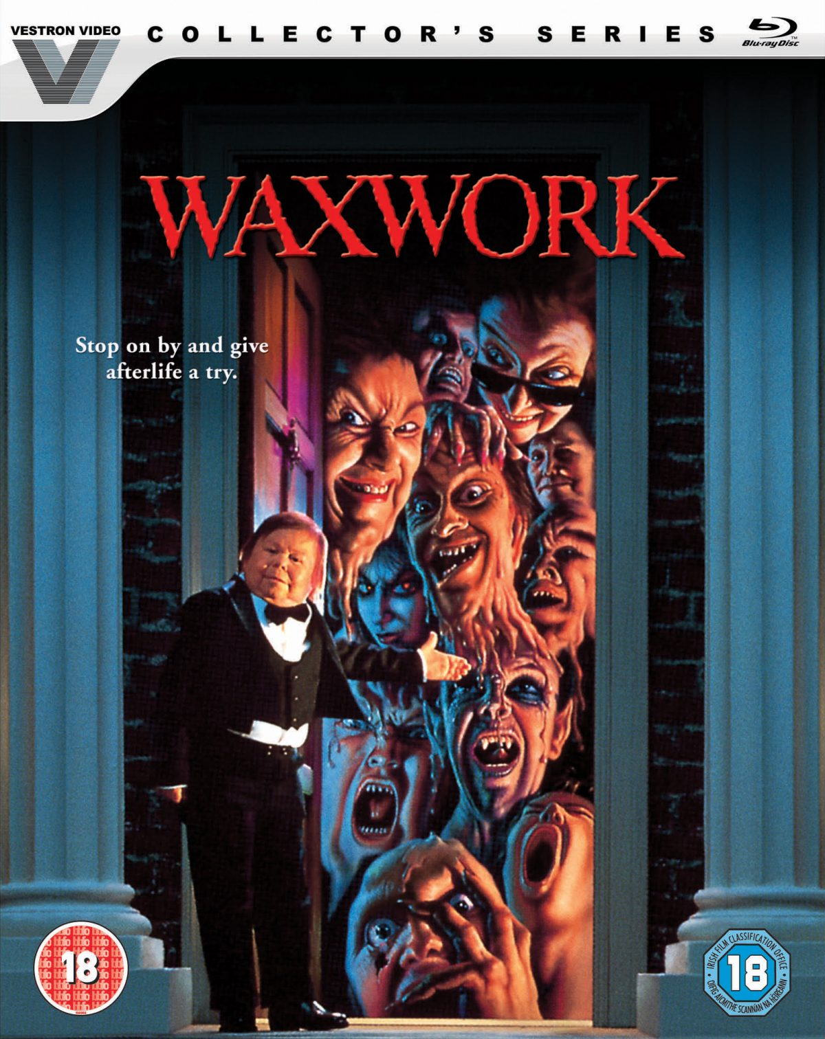 Waxwork is heading on to Blu-ray for the first time thanks to Lionsgate UK later this month, we check out the release and its special features.