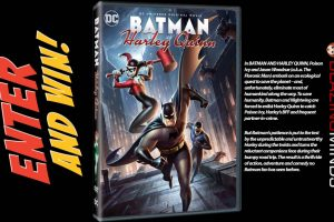 Win Batman & Harley Quinn on DVD – Available on Blu-ray™ and DVD August 28