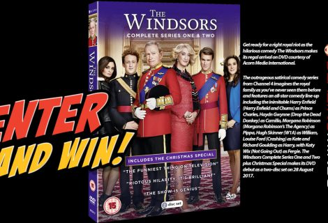 Win The Windsors Complete Season 1+2 and Christmas Special on DVD